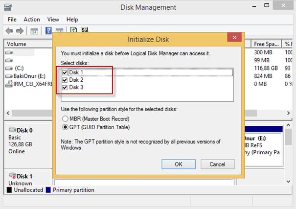 Windows 8 Storage Spaces – Kurulum ve Konfigürasyon