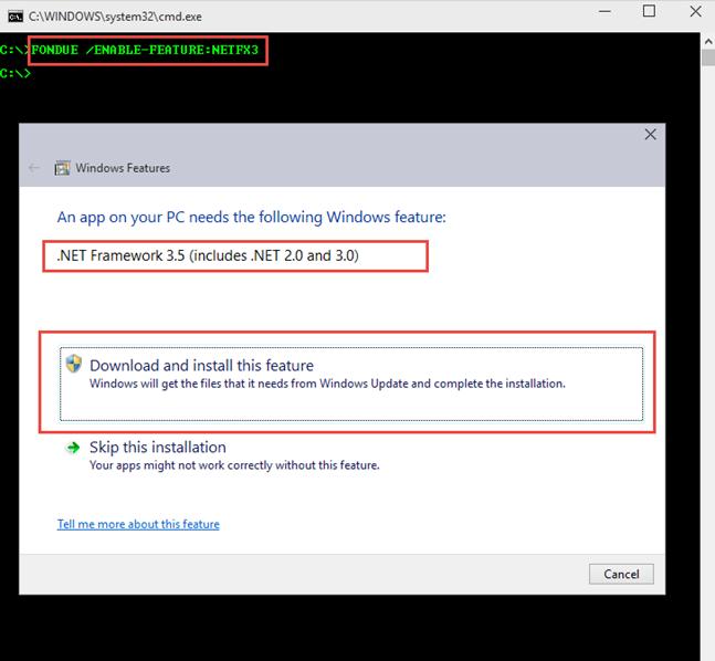 Windows'un gizli kalmış araçları – Fondue.exe