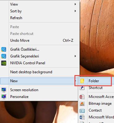 Windows 10 sırları-Gizli Menü ile tüm özellikleri tek pencerede görmek