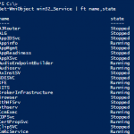 Windows Powershell ile Windows Servislerini Yönetmek – Part 2
