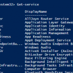 Windows Powershell ile Windows Servislerii Yönetmek – Part I