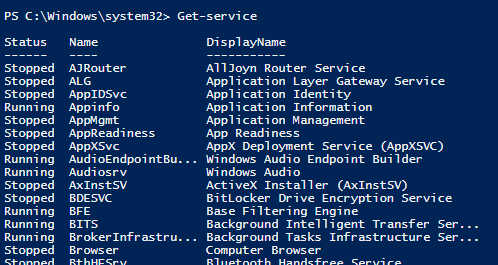 Windows Powershell ile Windows Servislerii Yönetmek – Part I