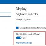 Windows 10 Gece Işığı (Night Light) ile güneş batarken ekran parlaklığınız otomatik değişsin!