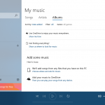 Windows 10 Groove Music
