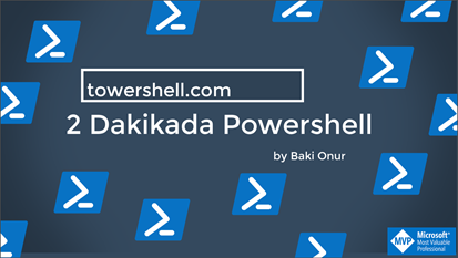 Powershell Egitim Video Serisi Yayinda!