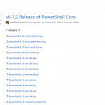 Powershell Core v6.1.2