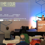 MS Ignite The Tour Londra'da Azure Cloud Shell anlattim