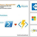 07 Kasim Webiner Kaydi – PowerShell Functions in Azure