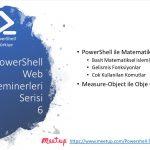 PowerShell Turkiye (PSTR) Web Seminerleri – 6